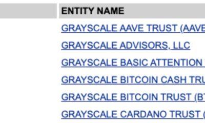 Grayscale은 새로운 암호화 신탁 서류를 통해 DeFi에 진출 할 예정입니다.